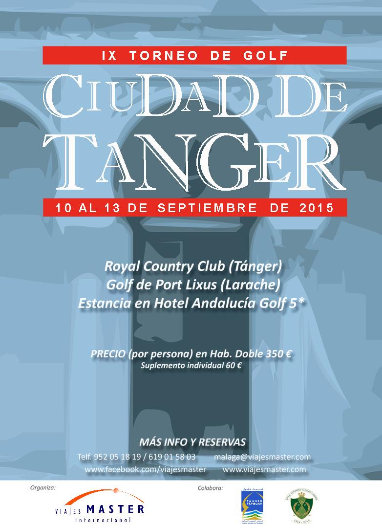 cartel noveno torneo ciudad de tanger